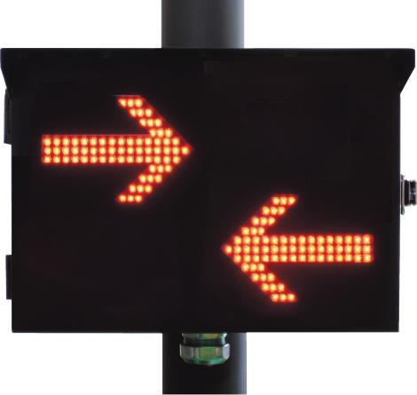 列車進行方向指示器